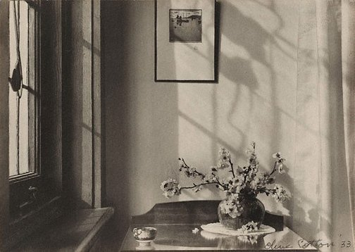 An image of Interior (my room) by Olive Cotton