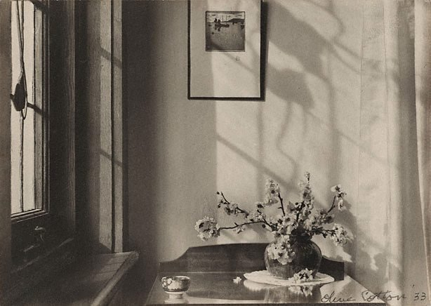 Interior (my room), (1933) by Olive Cotton