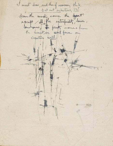 An image of (Untitled) (I must draw ...) by William Rose