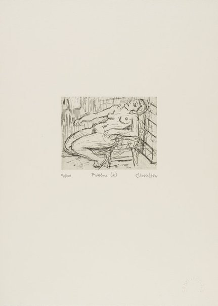 An image of Fidelma (2) by Leon Kossoff