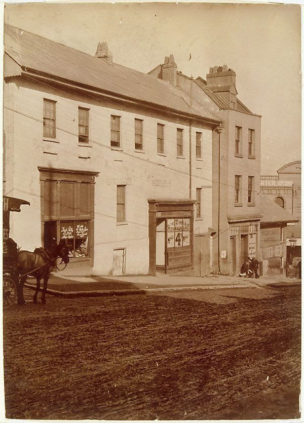 An image of Untitled (view of Market street, towards Sussex street, Sydney)