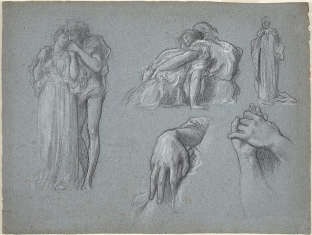 An image of Studies for 'Whispers' and 'Wedded'