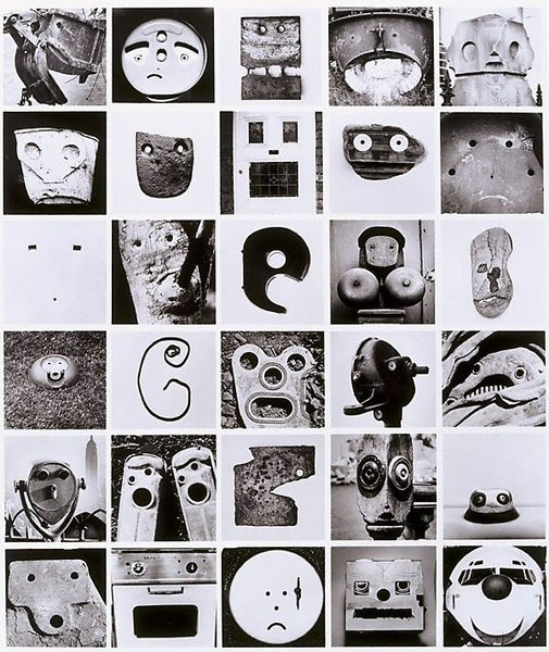 An image of Faces multiple by David Moore