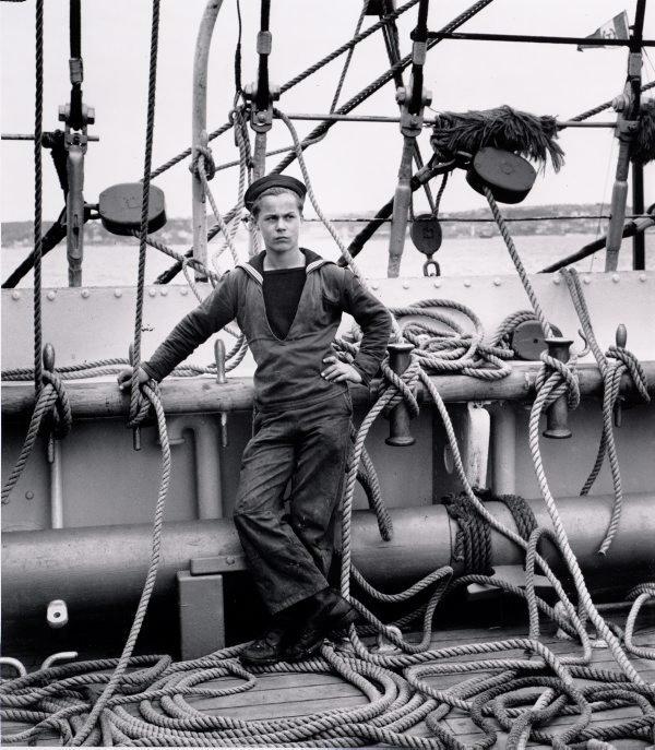 An image of Tall ship sailor, Torbay, UK