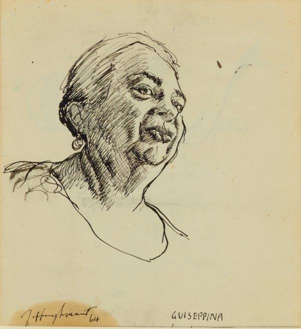 Guiseppina, (1964) by Jeffrey Smart