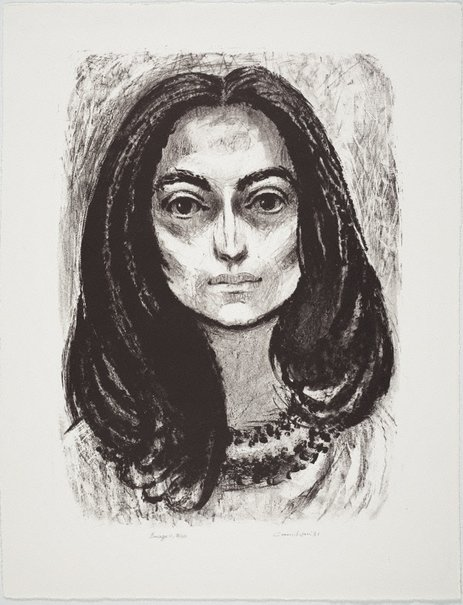 An image of Young Catalan woman by Noel Counihan