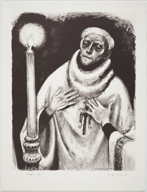 An image of The relieving priest