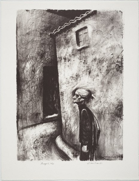 An image of Old woman by Noel Counihan