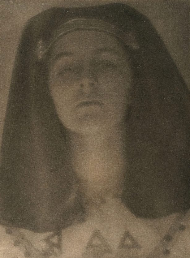 An image of Egyptian princess c1906-09, from Camera Work, no 27, July 1909