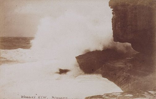 An image of Waverley, NSW (Bondi) by Harold Cazneaux