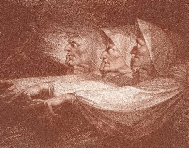 An image of The weird sisters