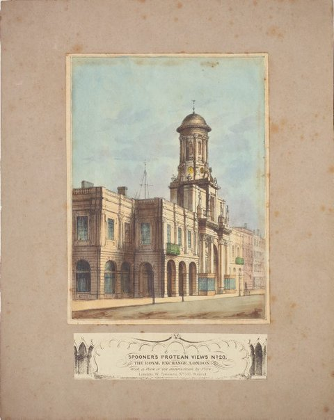 An image of The Royal Exchange by Unknown