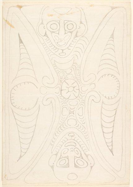 An image of Kaplap, a spirit associated with butterflies by Simon Nowep
