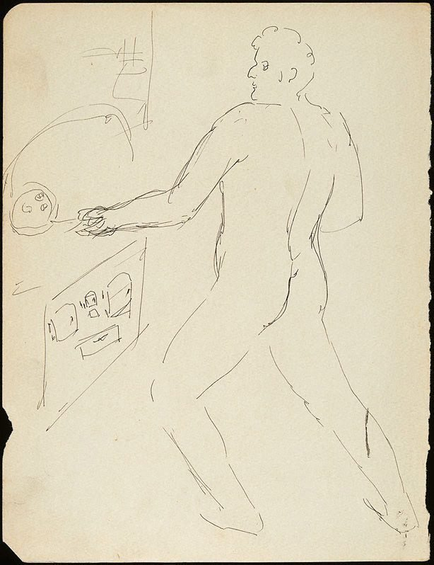 An image of Man cooking