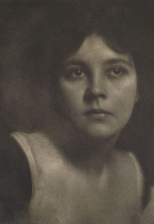 An image of Miss Mabel C, from Camera Work, no 27, July 1909