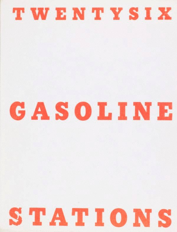 Twentysix gasoline stations, (1963, printed 1969) by Edward Ruscha