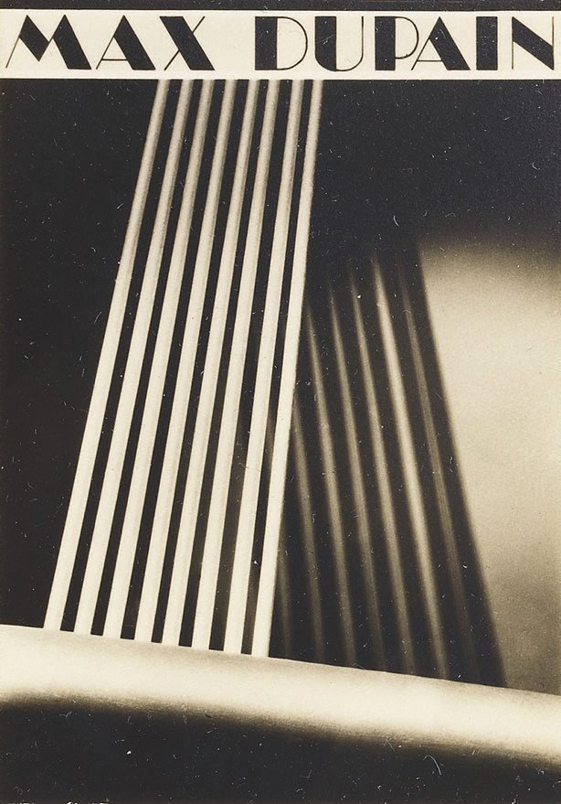 An image of Max Dupain book plate