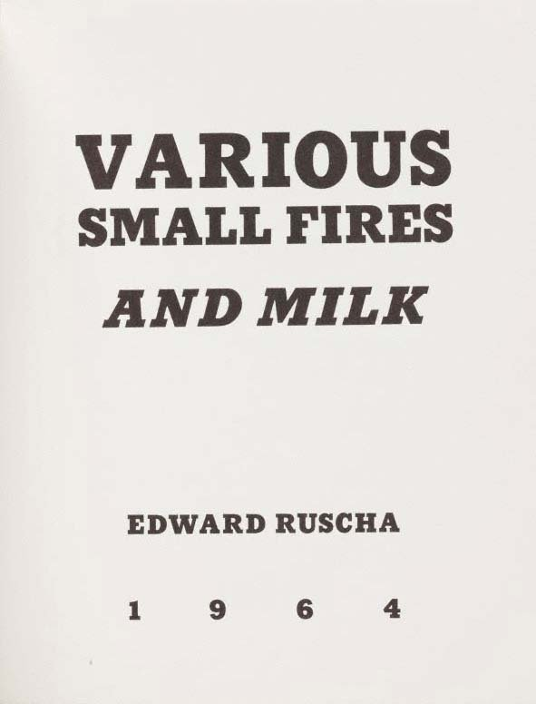 An image of Various small fires and milk