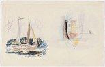Alternate image of (Studies of ships) by Lyonel Feininger