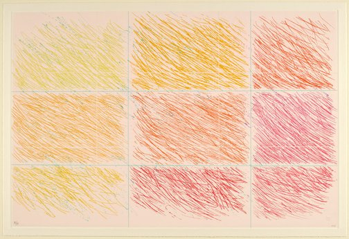 An image of Marron by Kenneth Noland