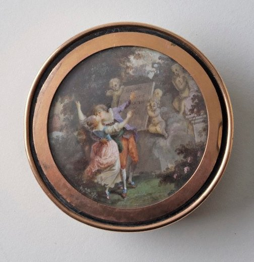 An image of Serment d'amour by Unknown, after Jean-Honoré Fragonard