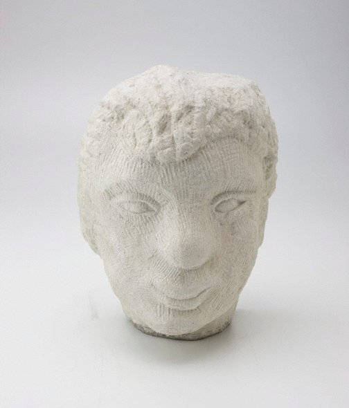 An image of Head of a young man by Henri Gaudier-Brzeska, H.S. Ede