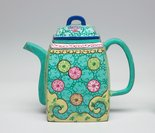 Alternate image of Ewer decorated with enamels by Yixing ware