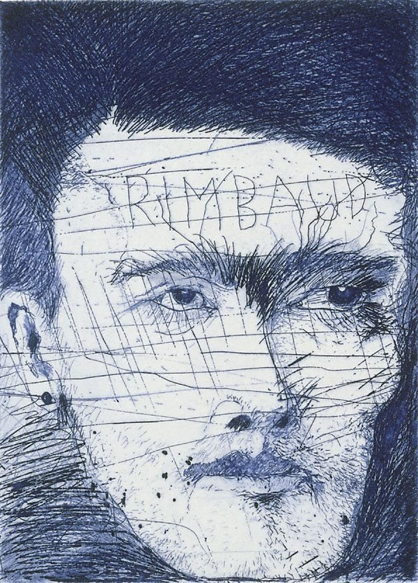 An image of Rimbaud wounded in Brussels