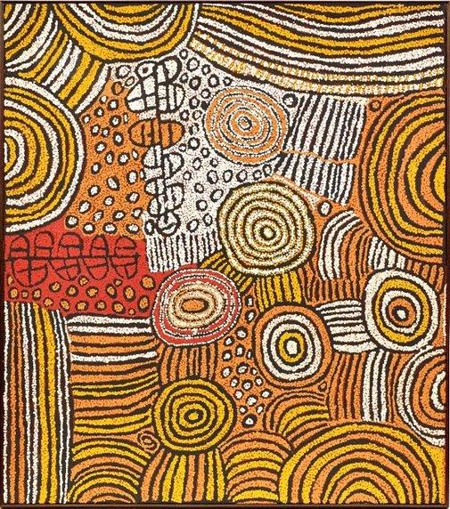 An image of Untitled by Walangkura Napanangka