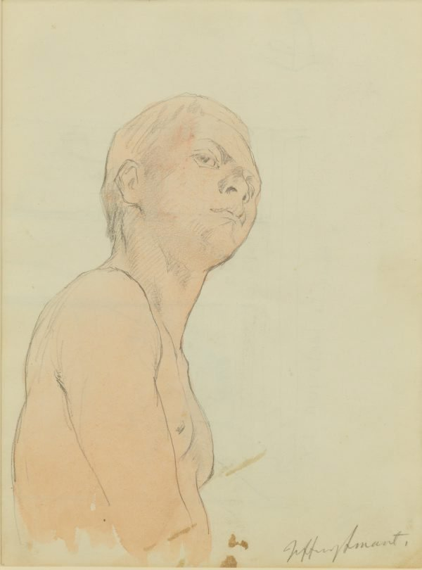 An image of Study for 'In the art gallery' 1965