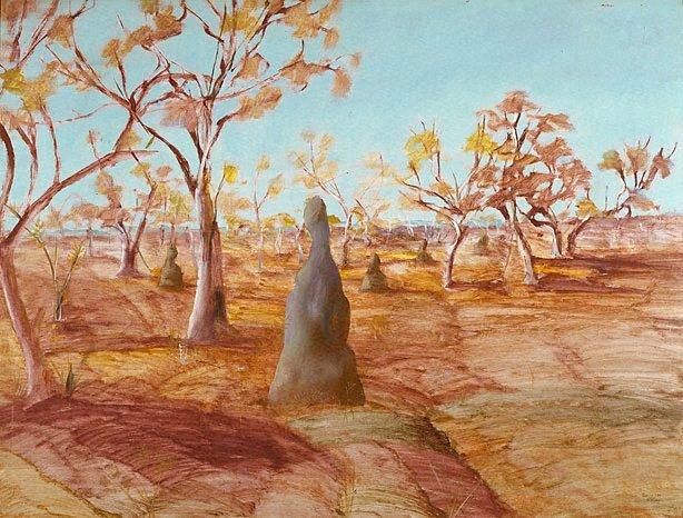 An image of Ant hills, Australia