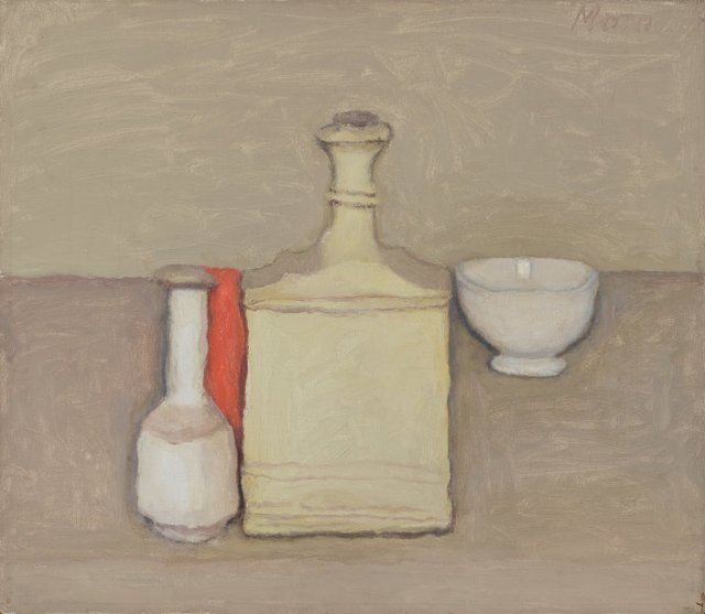 Still life, (1957) by Giorgio Morandi