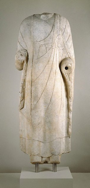 AGNSW collection Standing Buddha 581 CE-618 CE