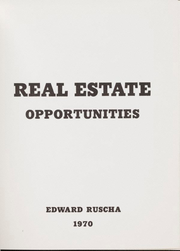 An image of Real estate opportunities