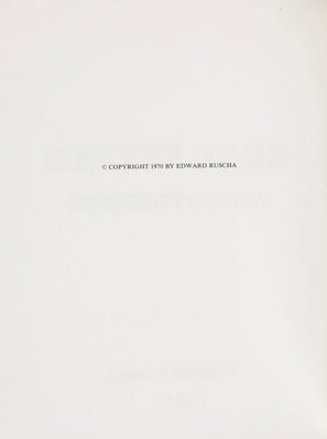Alternate image of Real estate opportunities by Edward Ruscha