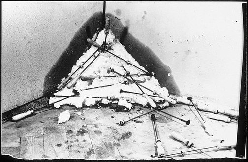 An image of 'Fat corner' by Joseph Beuys by Ute Klophaus, Joseph Beuys