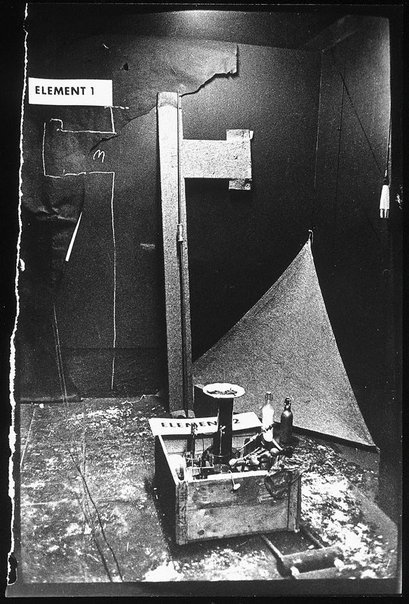 An image of From the Action by Joseph Beuys 'Manresa' by Ute Klophaus, Joseph Beuys
