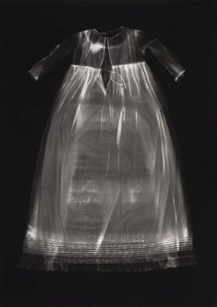 An image of untitled (christening gown) by Anne Ferran