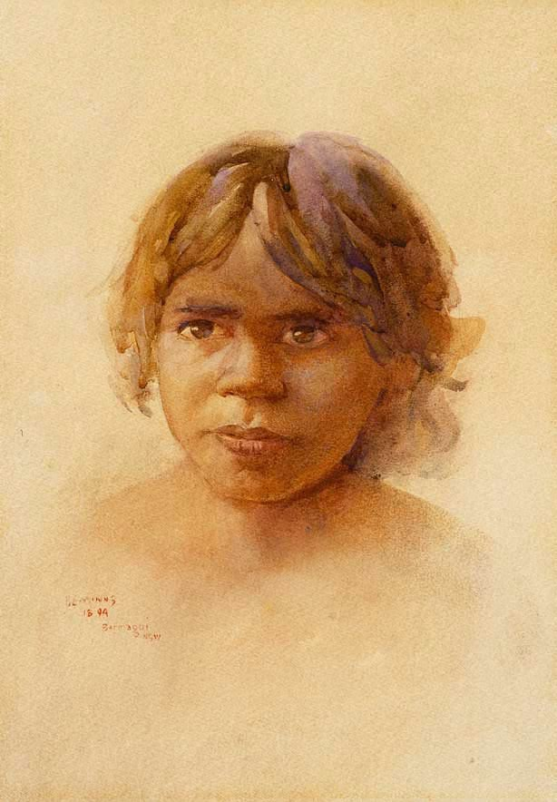An image of Aboriginal girl