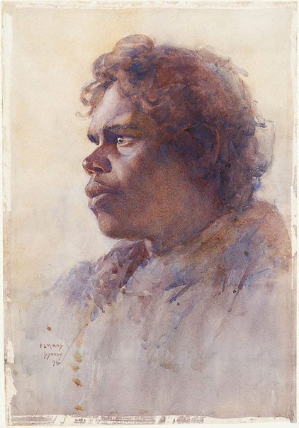 An image of Australian Aboriginal female, Sydney by BE Minns