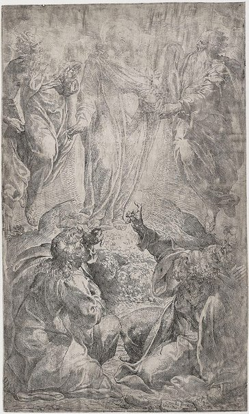 An image of The Transfiguration by Camillo Procaccini