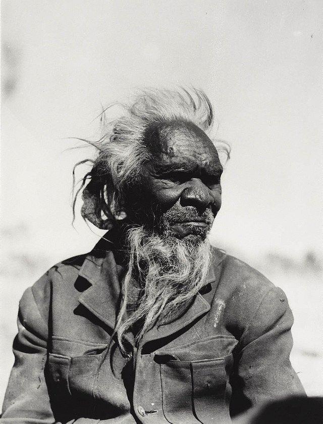 An image of Albert Namatjira's father Jonathan Namatjira