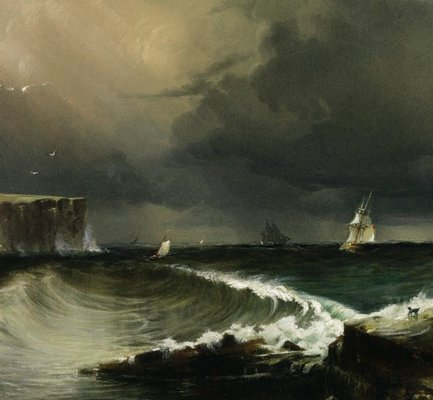 Alternate image of View of the Heads, Port Jackson by Conrad Martens