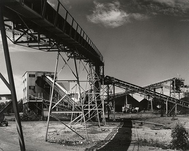 An image of No.2 wash plant at Lemington Colliery
