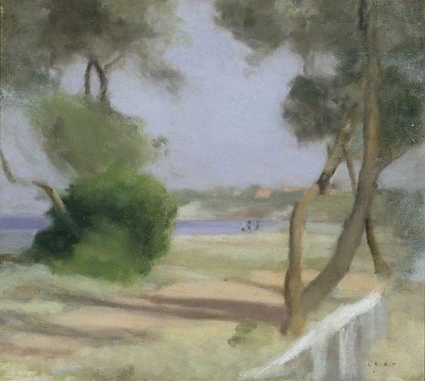 Beaumaris foreshore, (circa 1926) by Clarice Beckett