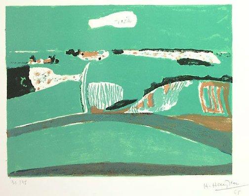 An image of Untitled (Landscape) by Henri Hayden