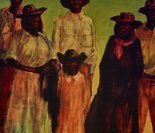 Alternate image of (Group of Aboriginal people) by Russell Drysdale