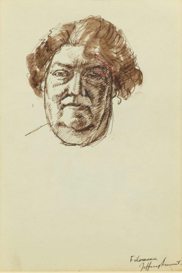 Filomena, (1966) by Jeffrey Smart