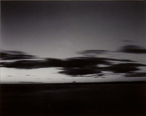 An image of Taranaki (with cloud), Wanganui, 1986 by Laurence Aberhart