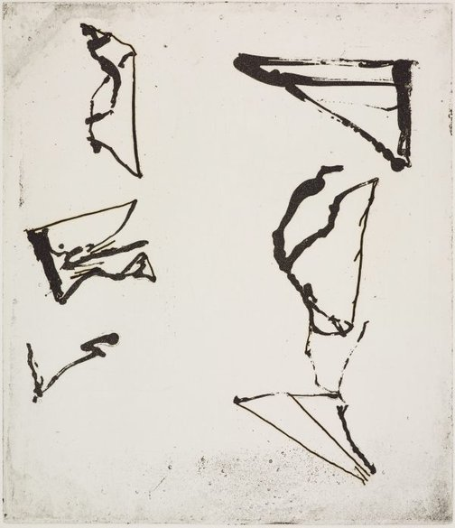 An image of 1 by Brice Marden